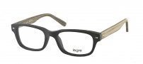 Legre LE151 Eyeglasses Eyeglasses - 527 Black Wood / Grey Green Temples