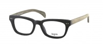 Legre LE150 Eyeglasses Eyeglasses - 527 Black Wood / Grey Green Temples