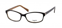 Legre LE145 Eyeglasses Eyeglasses - 437 Dark Brown / Animal Print