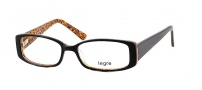 Legre LE143 Eyeglasses  Eyeglasses - 437 Dark Brown / Animal Print