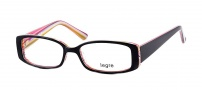 Legre LE143 Eyeglasses  Eyeglasses - 462 Black / Candy Cane