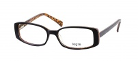 Legre LE142 Eyeglasses Eyeglasses - 437 Dark Brown / Animal Print
