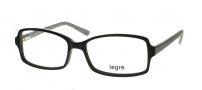 Legre LE123 Eyeglasses  Eyeglasses - 324 Black / Silver 3D Pattern