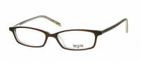 Legre LE104 Eyeglasses Eyeglasses - 603 Brown / See through Grey / Black Spots