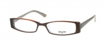 Legre LE080 Eyeglasses Eyeglasses - 603 Brown / See through Grey / Black Spots