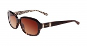 Bebe BB 7080 Sunglasses Sunglasses - Tortoise / Brown Gradient Lenses