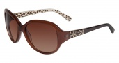 Bebe BB7074 Sunglasses Sunglasses - Topaz Crystal / Brown Gradient Lenses