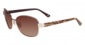 Bebe BB 7073 Sunglasses Sunglasses - Gold / Brown Gradient Lenses
