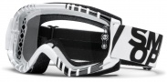 Smith Optics Fuel V.1 Max Moto Goggles Goggles - White - Black Vert / Clear AFC