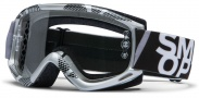 Smith Optics Fuel V.1 Max Moto Goggles Goggles - Silver / Black Static / Clear AFC