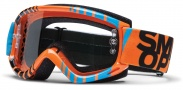 Smith Optics Fuel V.1 Max Moto Goggles Goggles - Orange - Blue Vert / Clear AFC