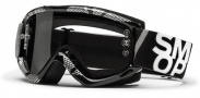 Smith Optics Fuel V.1 Max Moto Goggles Goggles - Black - Silver Static / Clear AFC
