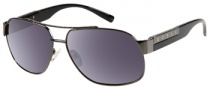 Guess GU 6693 Sunglasses Sunglasses - BLK-3: Shiny Black
