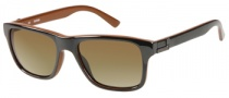 Guess GU 6700 Sunglasses Sunglasses - BLK-1: Black Brown 