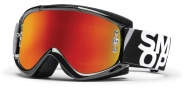 Smith Optics Fuel V.1 Max M Moto Goggles Goggles - Gloss Black / Red Mirror