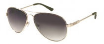 Guess GU 6735 Sunglasses Sunglasses - GLD-36: Shiny Gold