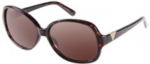 Guess GU 7160 Sunglasses Sunglasses - TO-34: Dark Tortoise