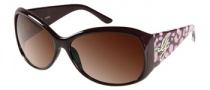 Guess GU 7165 Sunglasses Sunglasses - BRN-34: Dark Brown
