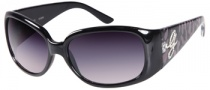 Guess GU 7167 Sunglasses Sunglasses - BLKBRN-35: Black Brown