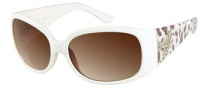 Guess GU 7167 Sunglasses Sunglasses - WHT-34: White Crystal