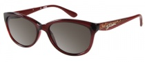 Guess GU 7209 Sunglasses Sunglasses - BU-3: Burgundy Milky