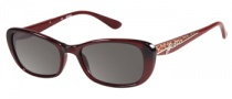 Guess GU 7210 Sunglasses Sunglasses - BU-3: Burgundy Milky
