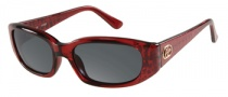 Guess GU 7219 Sunglasses Sunglasses - BU-3: Burgundy Crystal 