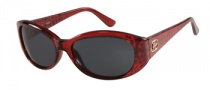 Guess GU 7220 Sunglasses Sunglasses - BU-3: Burgundy Crystal 