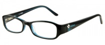 Bongo B Carly Eyeglasses Eyeglasses - BLK: Black