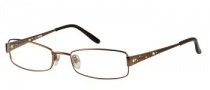 Bongo B Chloe Eyeglasses Eyeglasses - LBRN: Light Brown