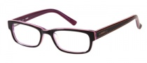 Bongo B Denim Eyeglasses Eyeglasses - BRN: Brown Salmon