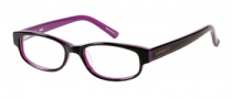 Bongo B Doll Eyeglasses Eyeglasses - BLK: Black Pearlized 