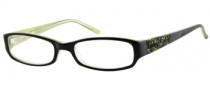 Bongo B Juliet Eyeglasses Eyeglasses - BLKGRN: Black 