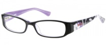 Bongo B Layla Eyeglasses Eyeglasses - BLKPUR: Black Purple 
