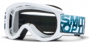 Smith Optics Junior Moto Goggles  Goggles - White / Clear AFC