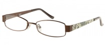 Bongo B Miley Eyeglasses Eyeglasses - BRN: Satin Brown