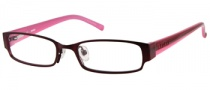 Bongo B Sammi Eyeglasses Eyeglasses - BU: Satin Burgundy 