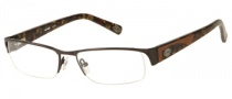 Harley Davidson HD 412 Eyeglasses Eyeglasses - BRN: Shiny Brown