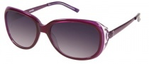 Harley Davidson HDX 849 Sunglasses Sunglasses - PUR-35: Purple