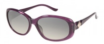 Harley Davidson HDX 852 Sunglasses Sunglasses - PUR-35: Shiny Purple