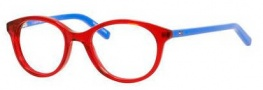 Tommy Hilfiger 1144 Eyeglasses Eyeglasses - 0H9W Transparent Red / Blue