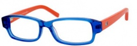Tommy Hilfiger 1145 Eyeglasses Eyeglasses - 0H9H Blue / Orange 