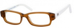 Tommy Hilfiger 1145 Eyeglasses Eyeglasses - 0H9E Transparent Light Brown / White 