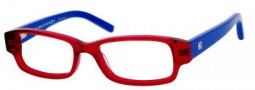 Tommy Hilfiger 1145 Eyeglasses Eyeglasses - 0H9W Transparent Red / Blue 