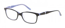 Candies C Kris Eyeglasses Eyeglasses - BLK: Black Blue