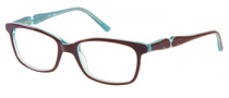 Candies C Kris Eyeglasses Eyeglasses - BRN: Brown Turquoise