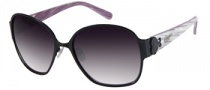 Candies COS Harper Sunglasses Sunglasses - BLK-35: Satin Black