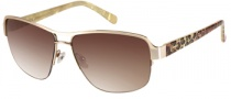 Candies COS Iris Sunglasses Sunglasses - GLD-34: Matte Gold 
