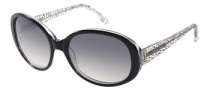 Candies COS Randi Sunglasses Sunglasses - BLK-35: Black Crystal