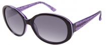 Candies COS Randi Sunglasses Sunglasses - PL-35: Dark Purple